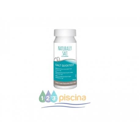 Tiras analíticas de sal Naturally salto (10 Tiras)