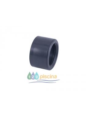 Casquete reducción PVC encolar