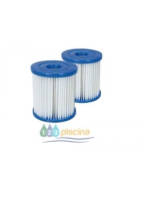 Filtro de cartucho tipo 2 para depuradora 2.006L/H y 3.028L/H