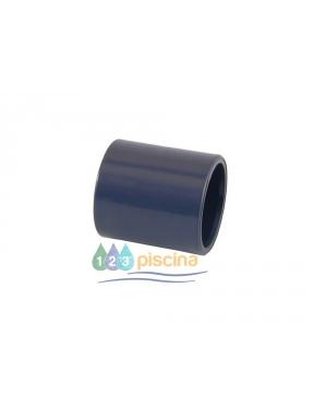Manguito unión PVC encolar