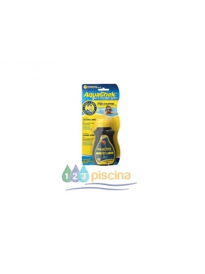 Tiras analíticas aquachek yellow (50 tiras)