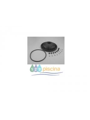 Tapa filtro bobinado pequeño 8 tornillos y junta