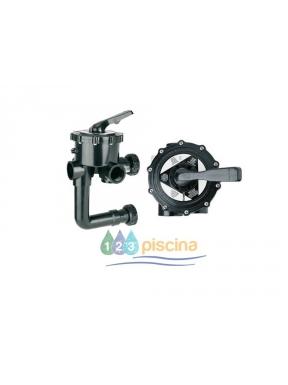 Válvula selectora 1 1/2 '' con enlace a filtro tornillos