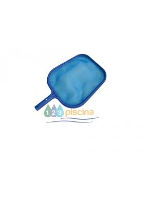 Recojedor de hojas plano fijo clip azul