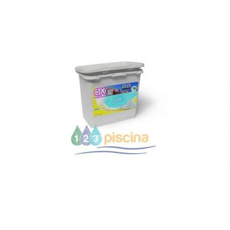 Incrementador de pH plus granulado 6kg CTX
