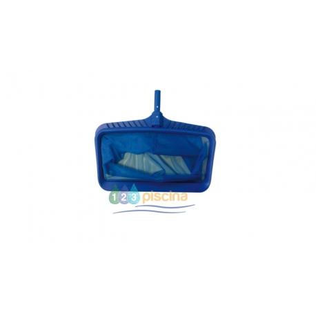 Recogehojas bolsa fijo clip azul