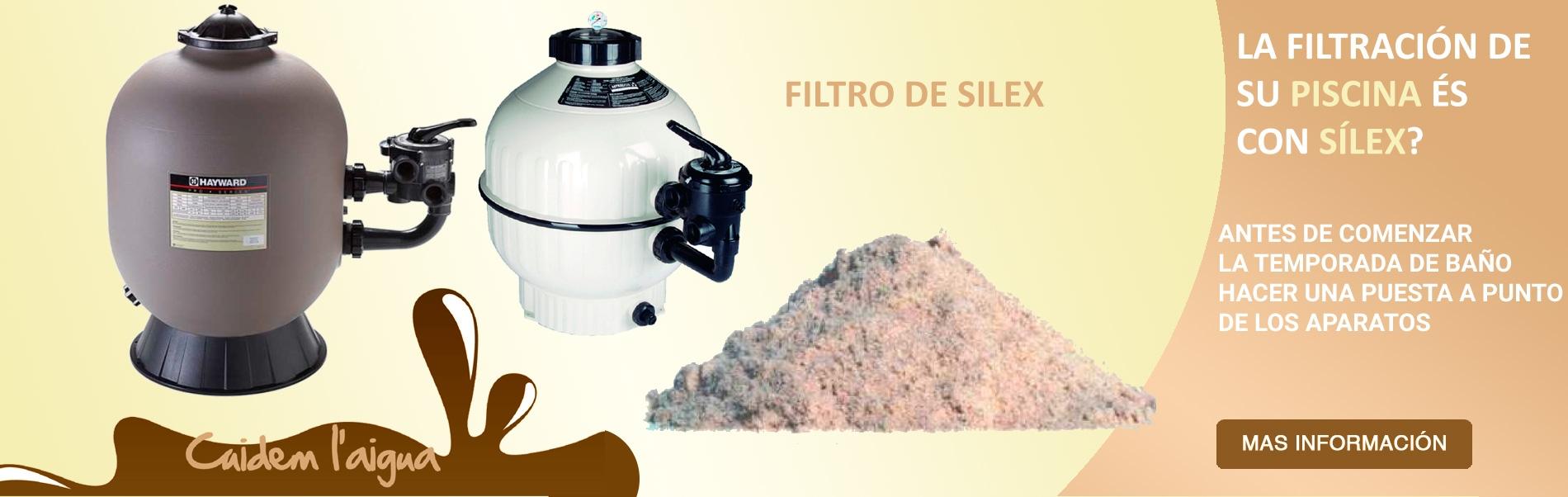 Mantenimientos filtros silex